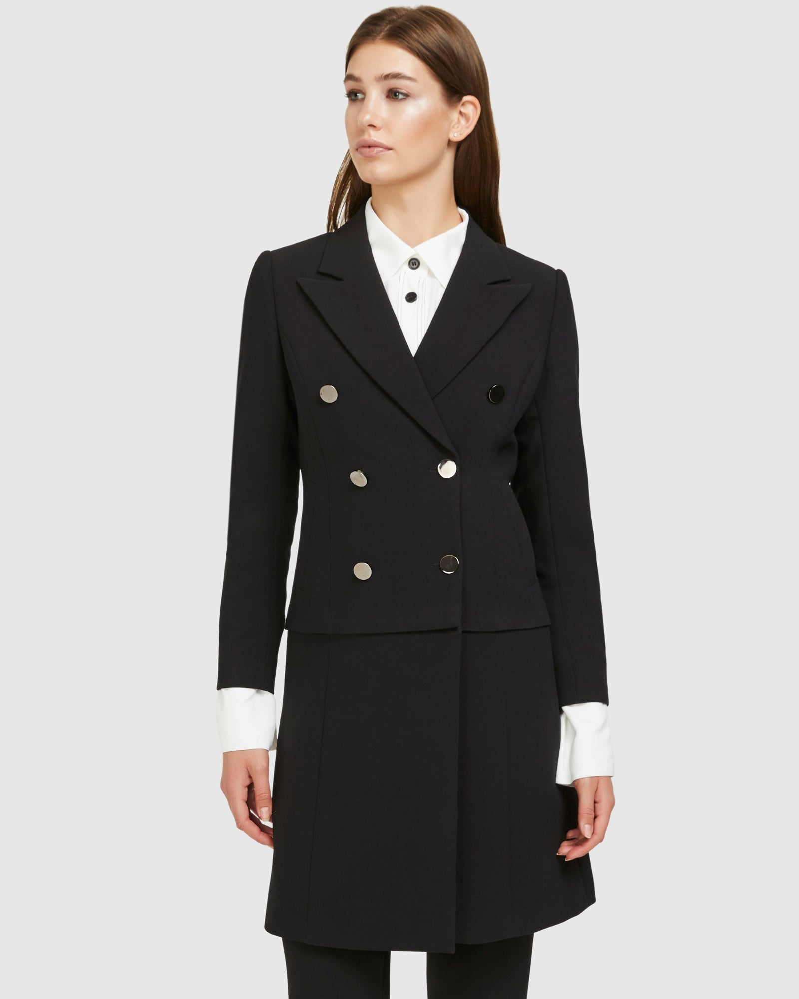 Convertible Blazer Coat - Suiting
