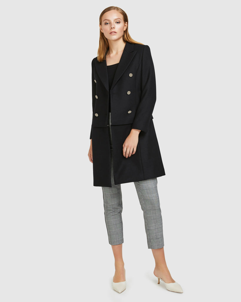 Convertible Wool Coat