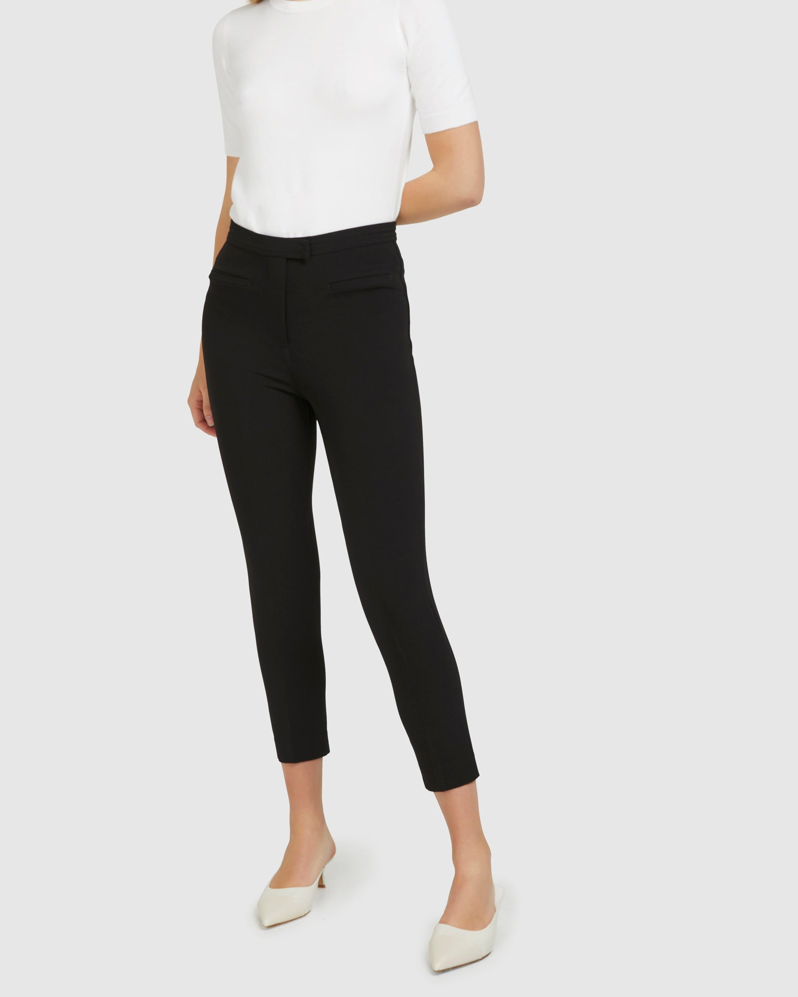 Waistband Trouser - Black