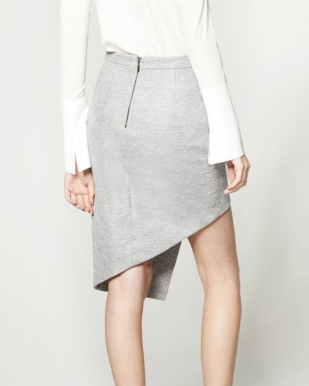 Staggered Skirt - Grey