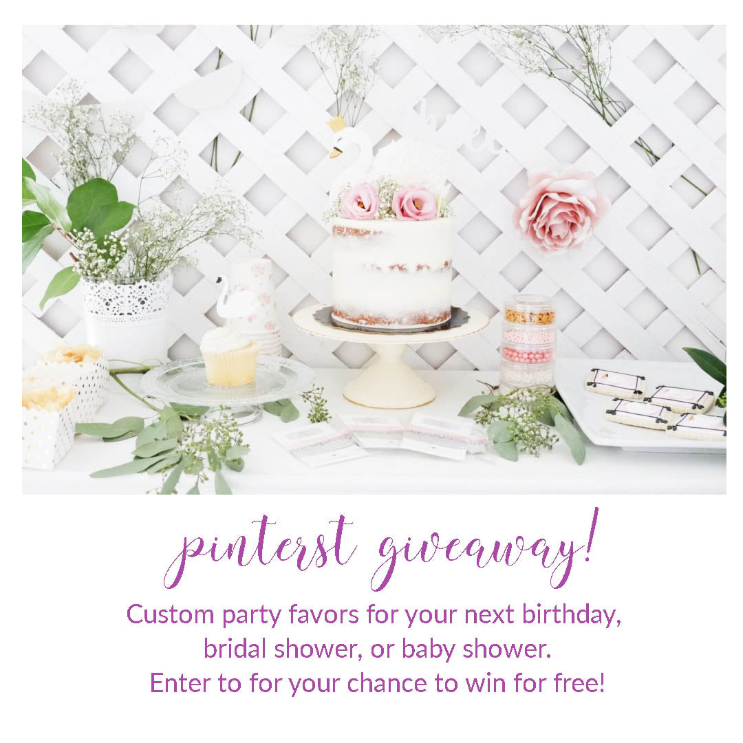 Pinterest Giveaway!