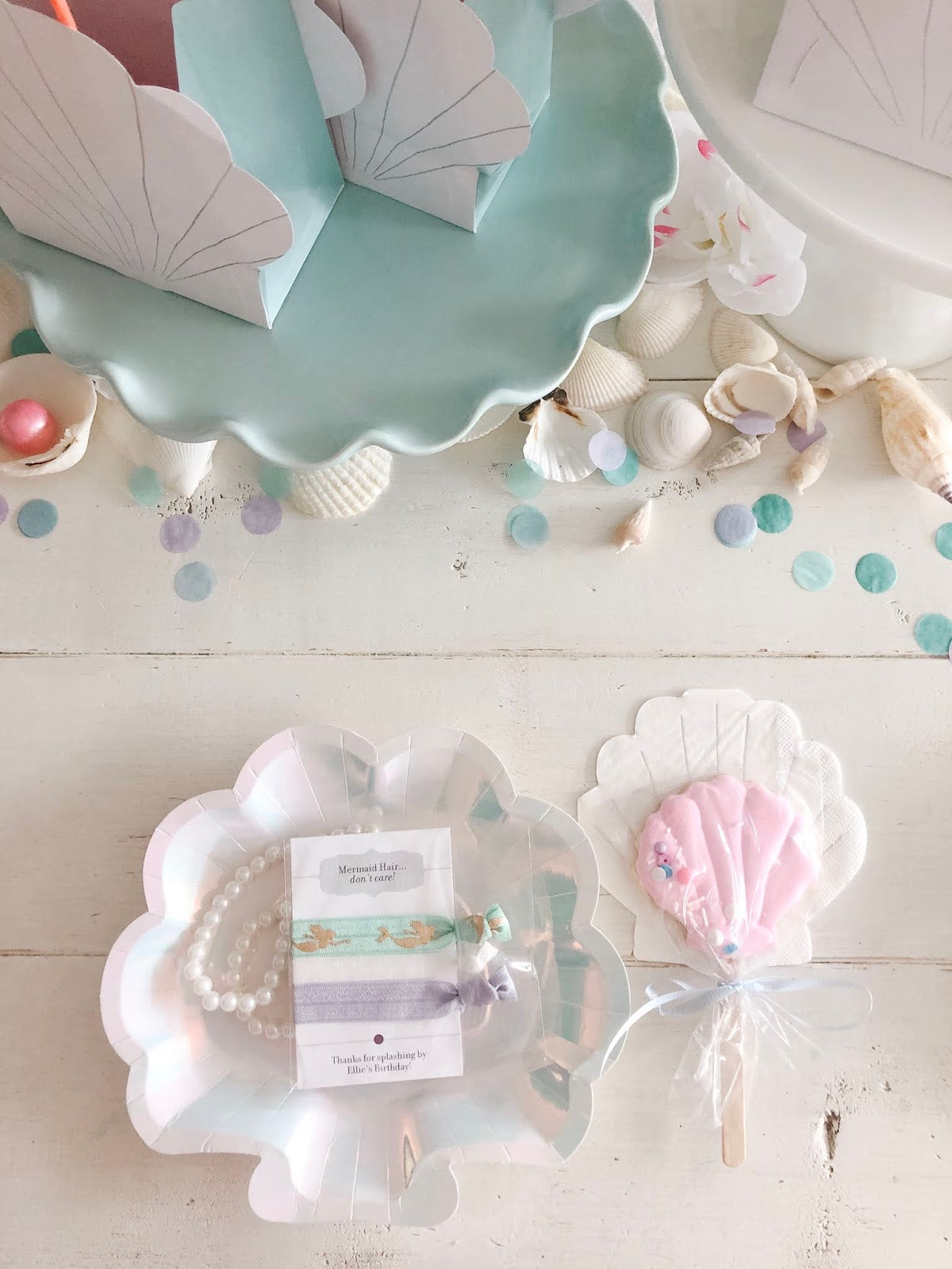 Make a Splash with this Mermaid Birthday Party!