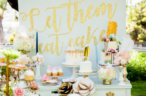 Marie Antoinette Inspired Bridal Shower