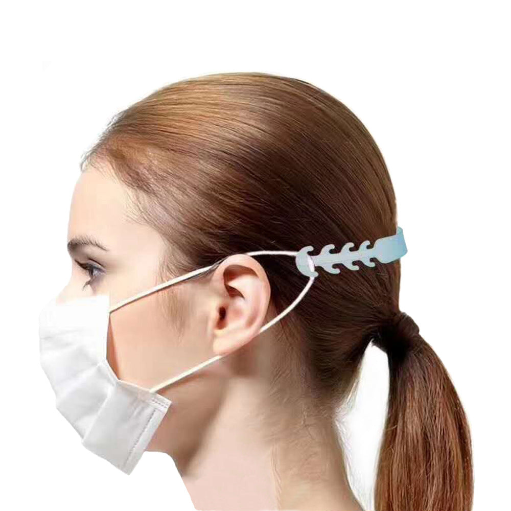 Soft Silicone Ear Saver for Face Masks, Face Mask Extender Ear Guard