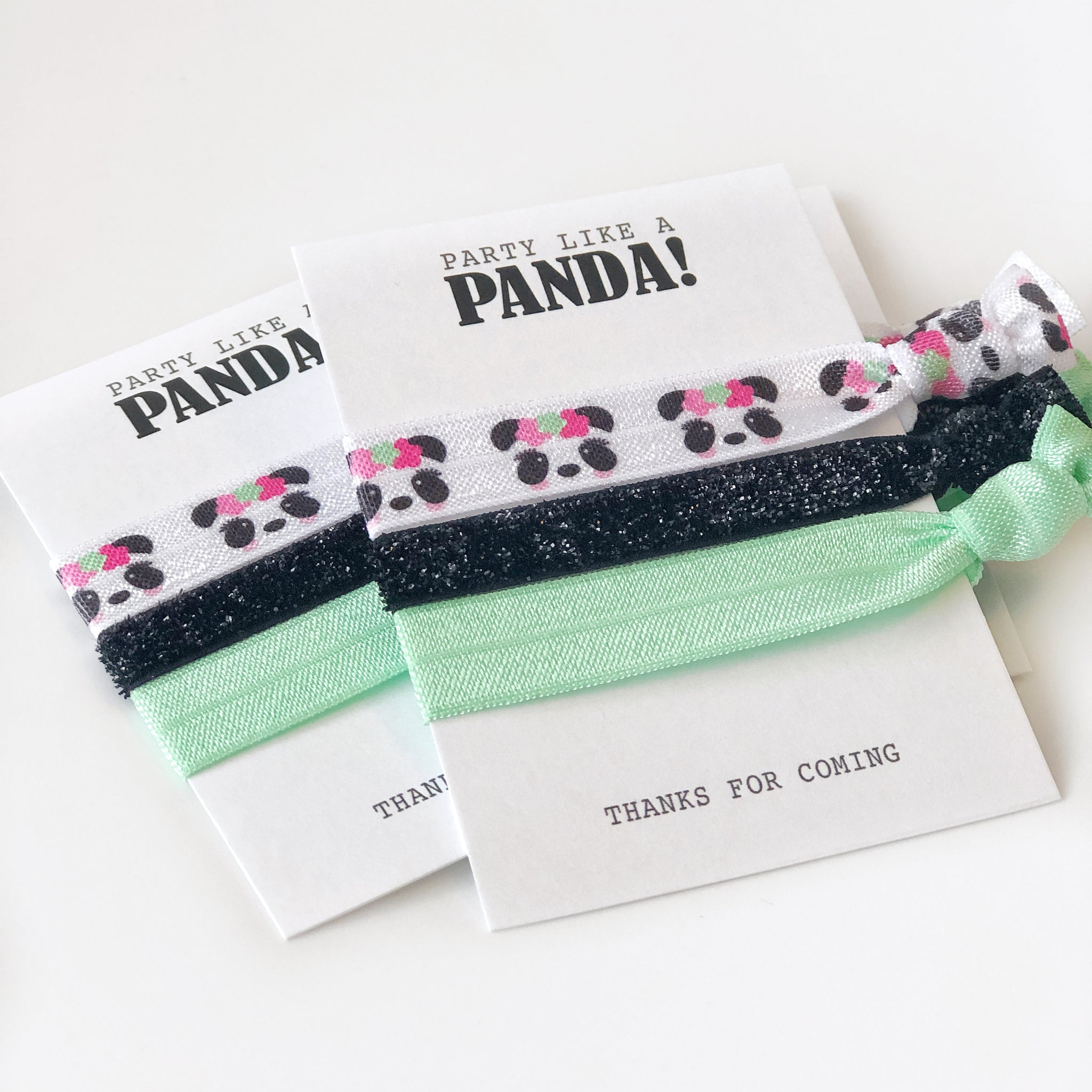 Panda Party Favors - @PlumPolkaDot