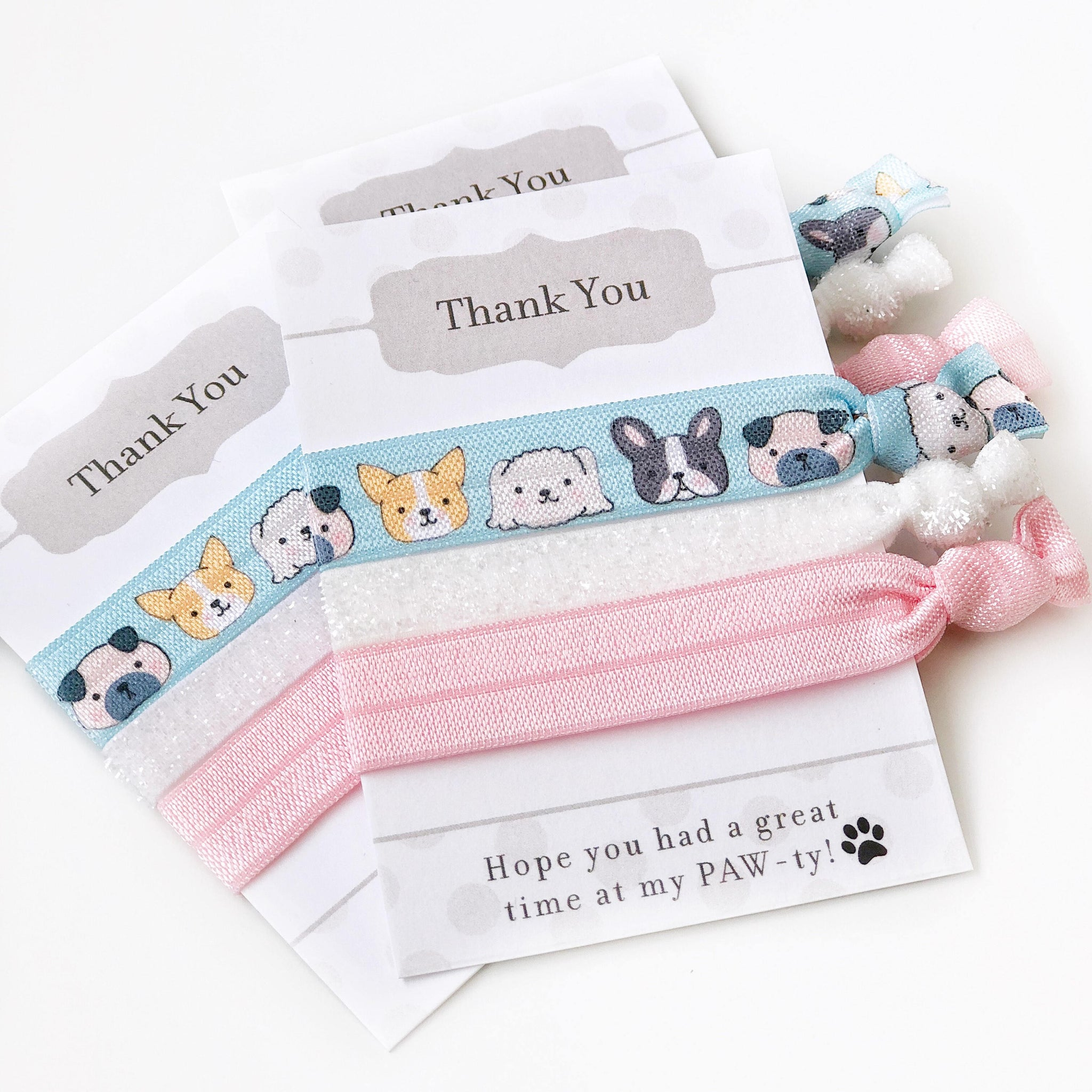 Dog Party Favors - Puppy Birthday Party Supplies - @PlumPolkaDot