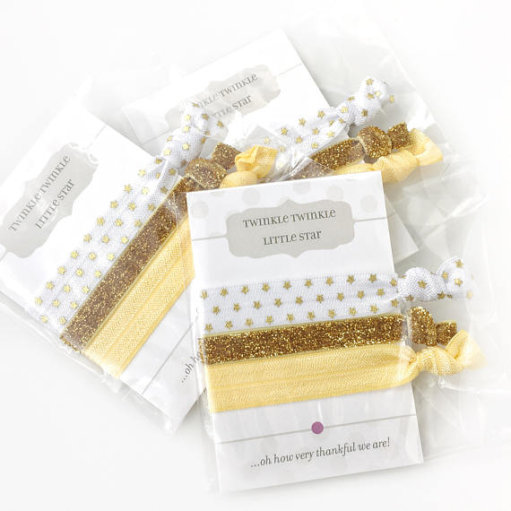Twinkle Twinkle Little Star Favors - Baby Shower or First Birthday Party Supplies - @PlumPolkaDot