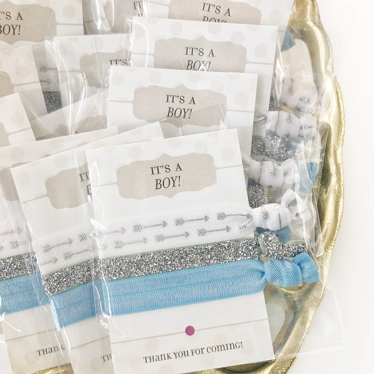 It's a Boy Baby Shower Favors - Blue Baby Shower Favors Boy - @PlumPolkaDot