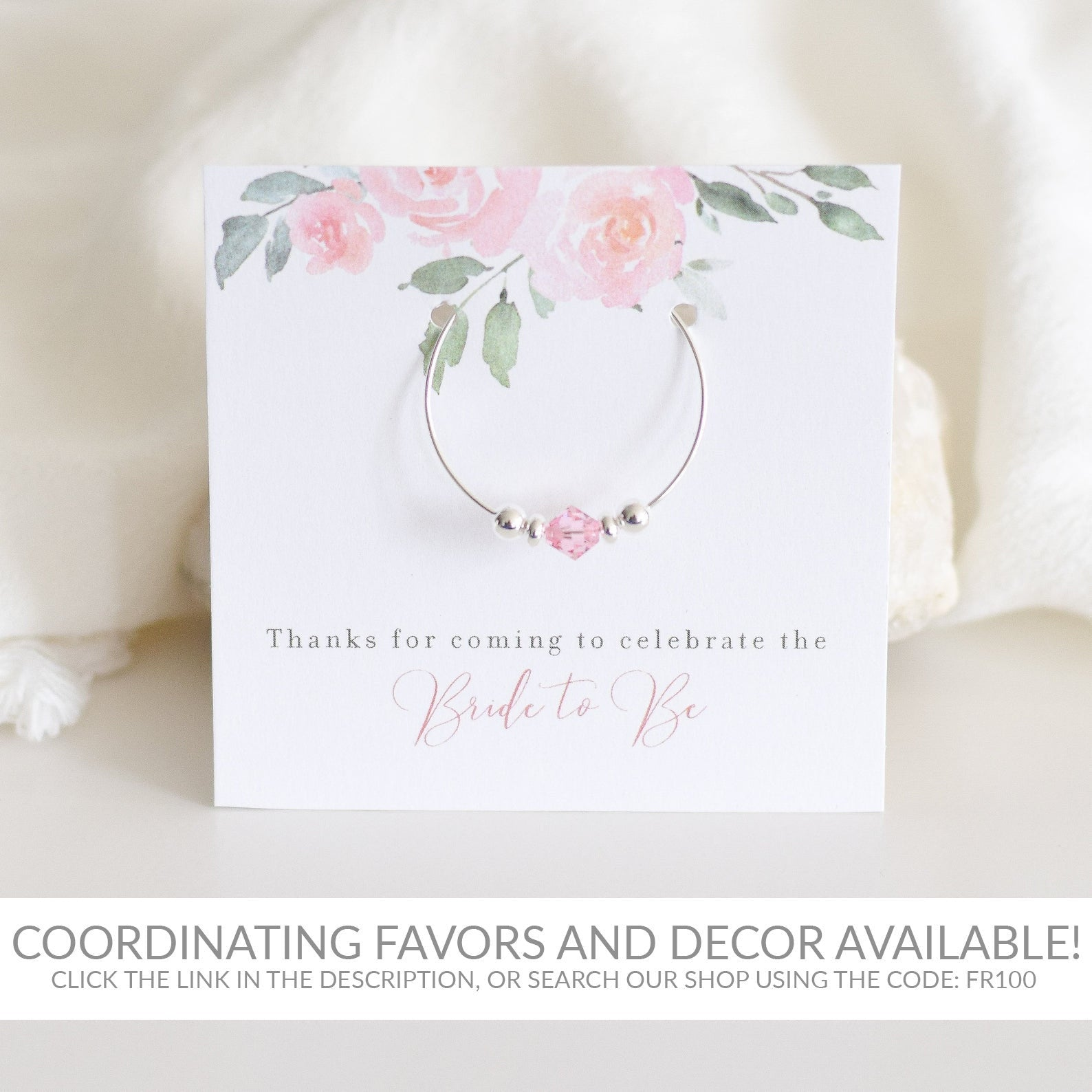 Blush Pink Floral Printable Favors Sign INSTANT DOWNLOAD, Birthday, Bridal Shower, Baby Shower, Wedding Decorations and Supplies - FR100 - @PlumPolkaDot