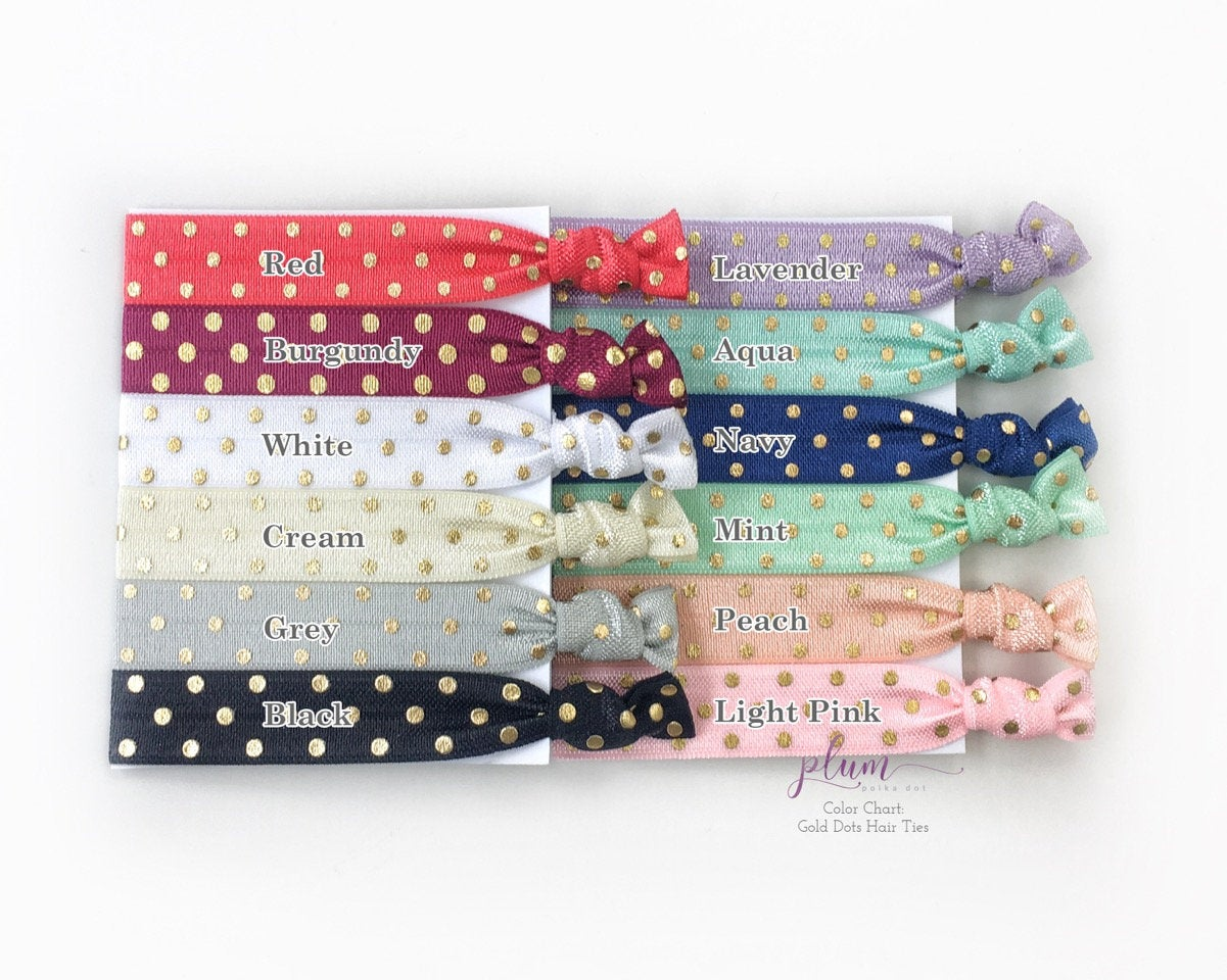 Will You Be My Bridesmaid Hair Ties, Bridesmaid Proposal, I Couldn't Tie The Knot Without You Hair Ties, Flower Girl and Bridesmaid Gift - @PlumPolkaDot