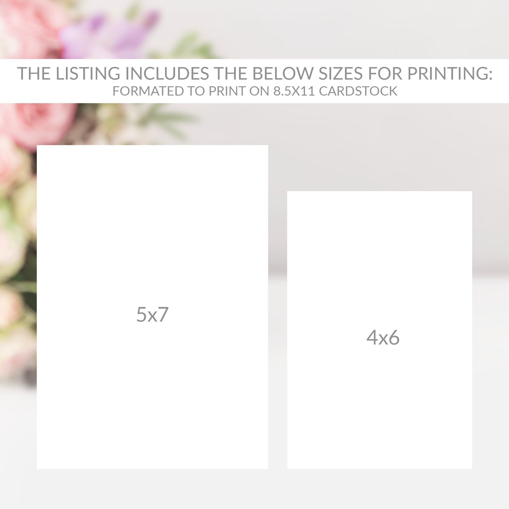 Wedding Table Numbers 1-50, Table Number Cards Wedding, Script Table Numbers, Table Numbers 4x6 and 5x7, Printable INSTANT DOWNLOAD - SFB100