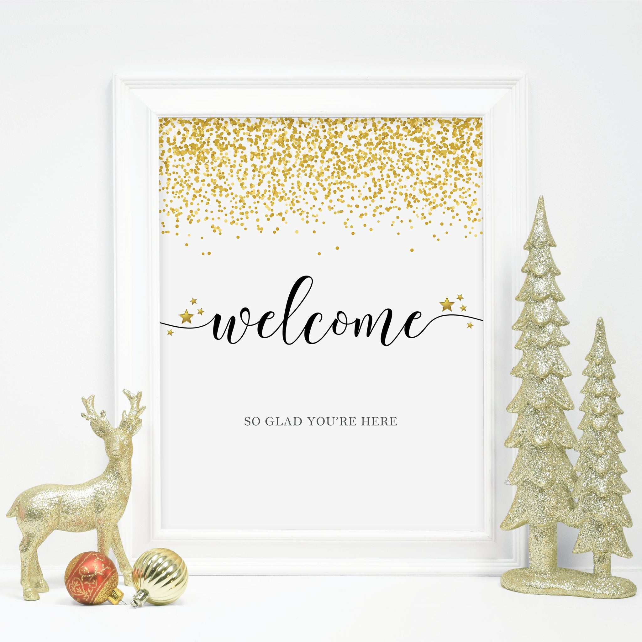 New Years Eve Party Welcome Sign Printable, New Years Eve Decorations, 2020 New Years Eve Party Sign, 2021 New Years, DIGITAL DOWNLOAD NY100