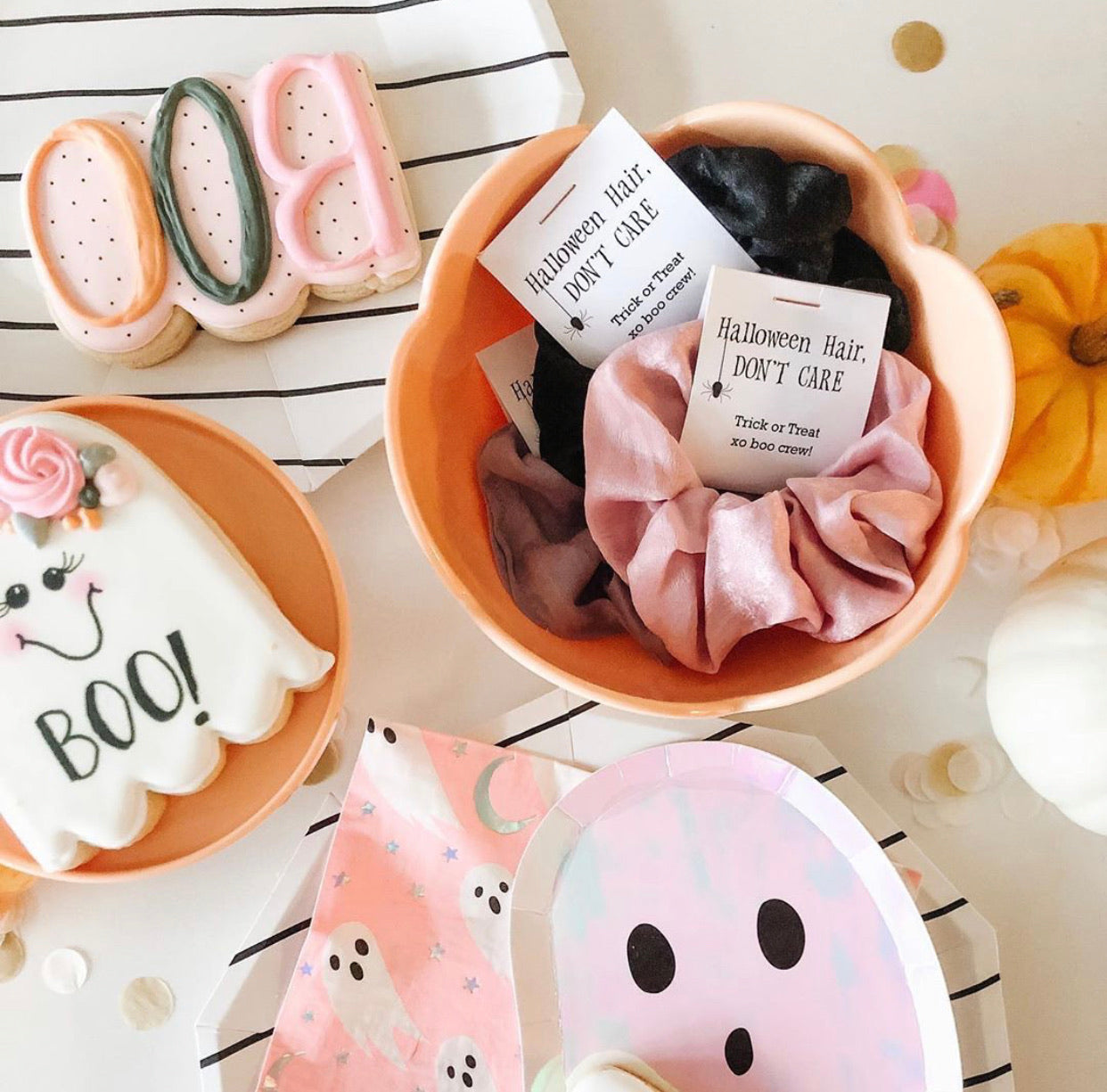 Halloween Gifts, Hair Scrunchie, Party Favors - EDS100