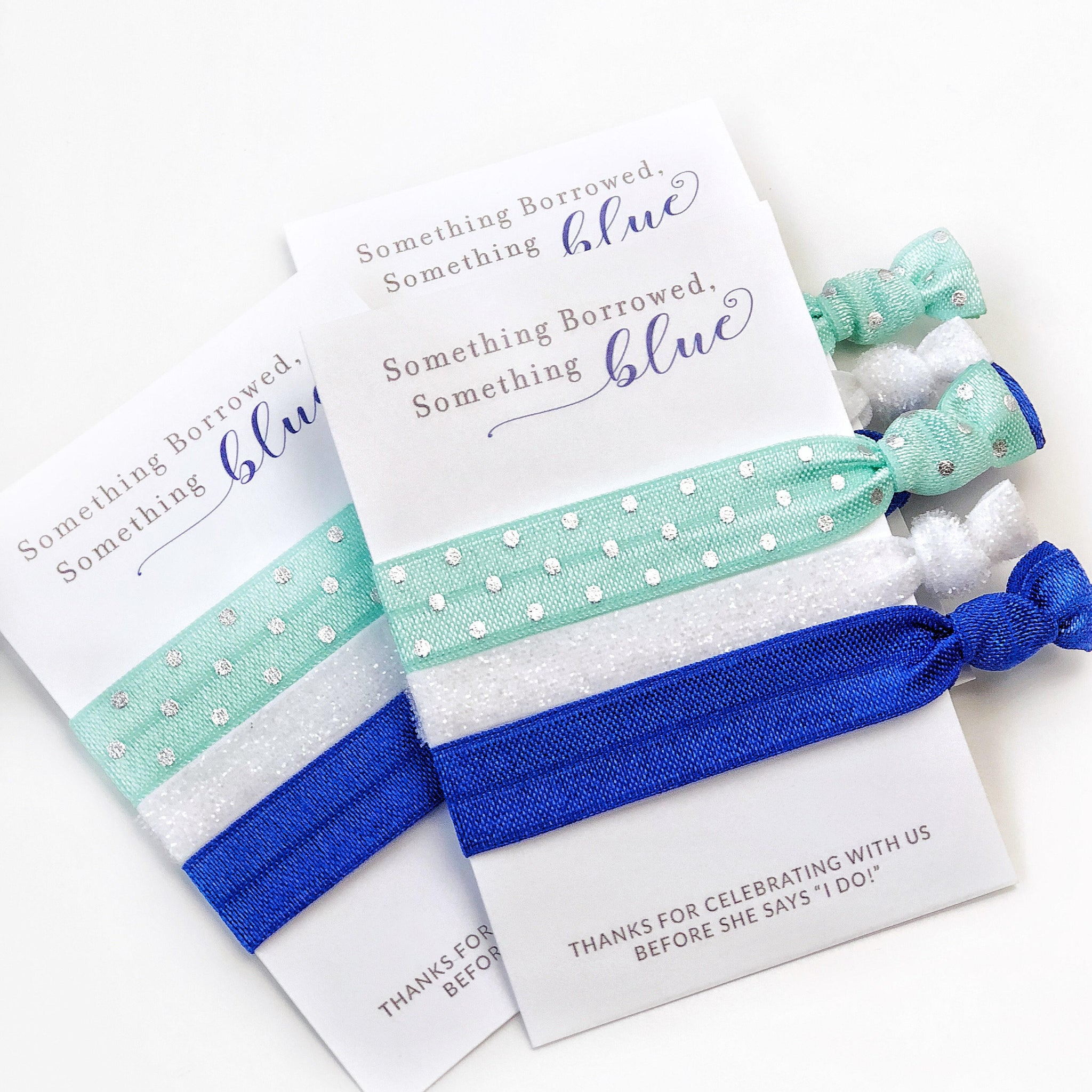 Something Blue Bridal Shower and Bachelorette Party Favors - Small Gifts - @PlumPolkaDot