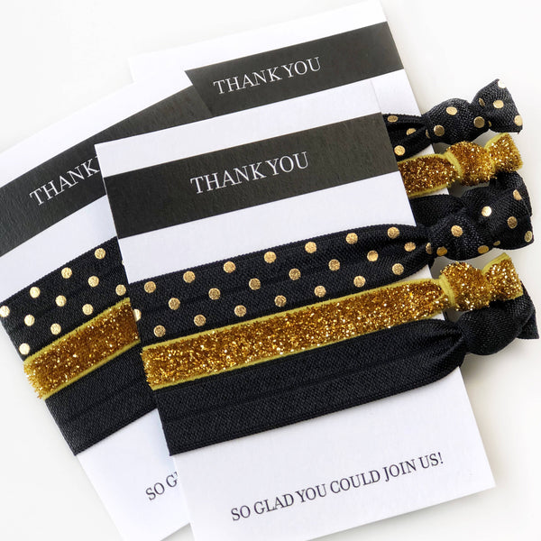 Black And Gold Party Favors Party Favor Ideas For Adults