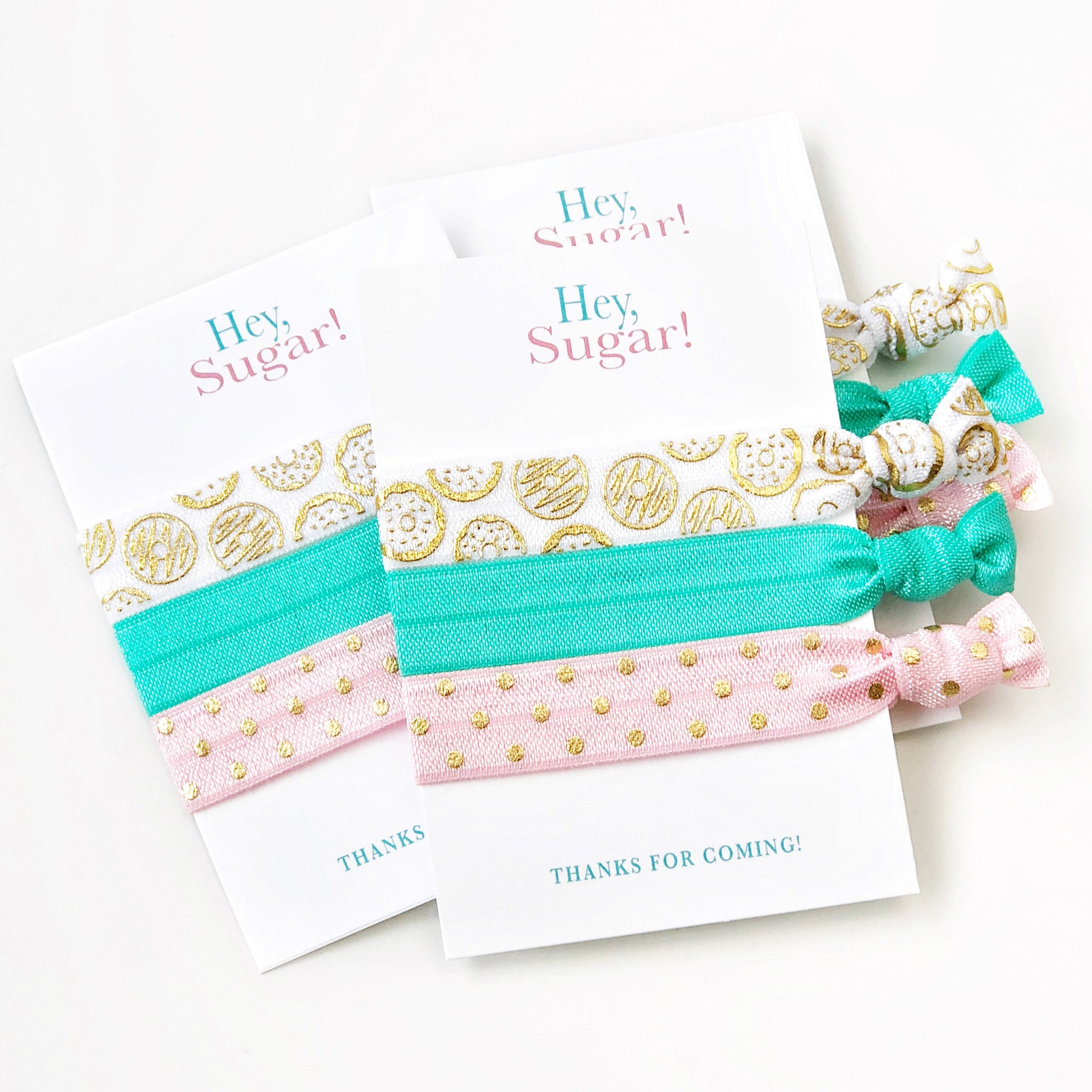 Donut Party Favors - @PlumPolkaDot