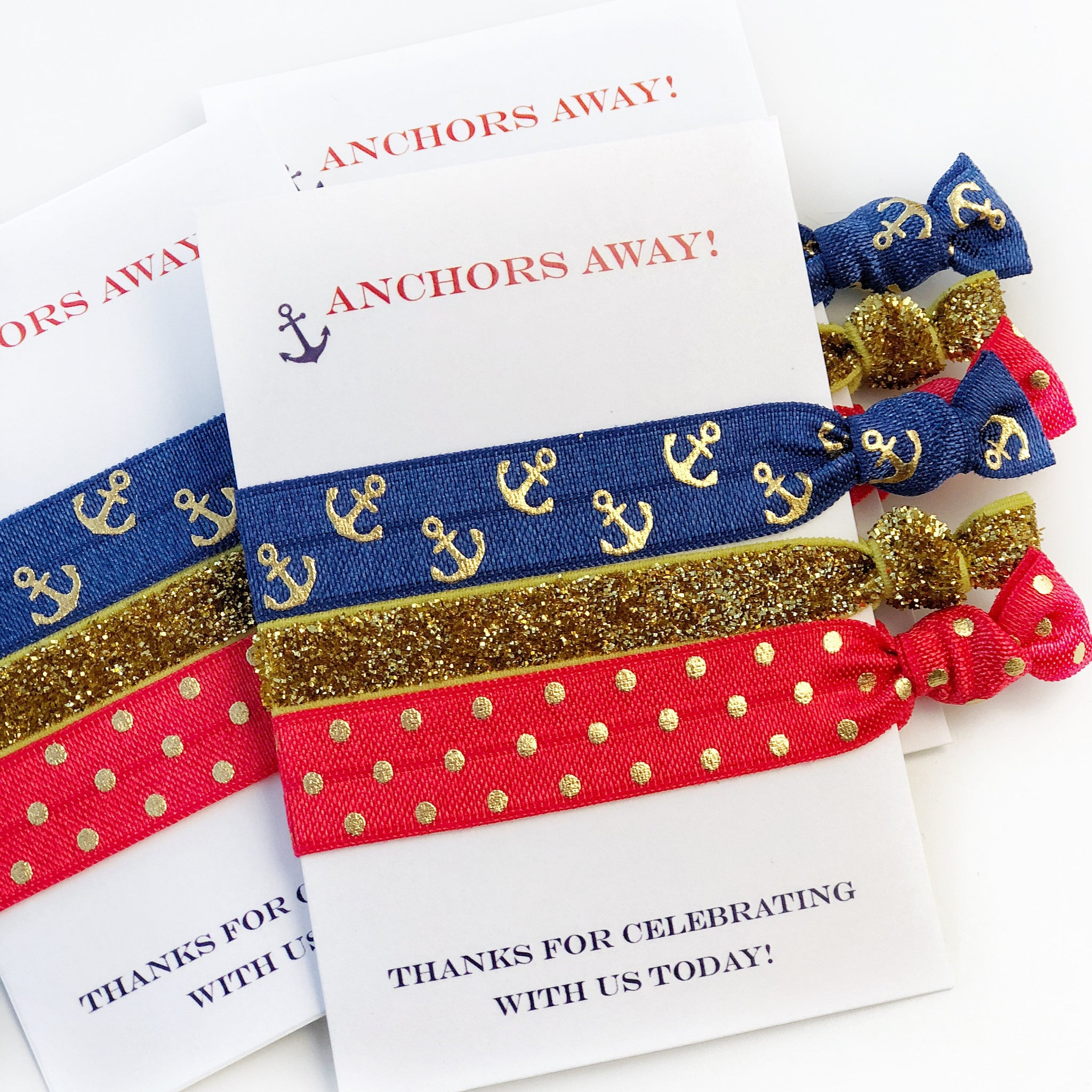 Nautical Party Favors - Nautical Party Decor - @PlumPolkaDot