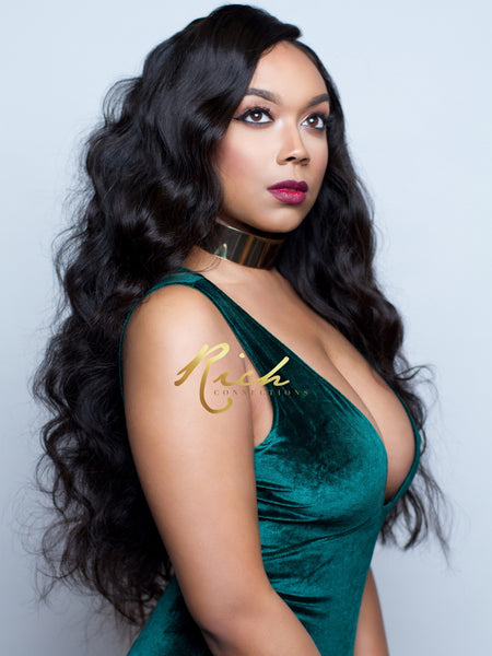 Body Wave Gold LUXE Virgin Hair (Store Stock) - Rich Connections, Extensions, Bundles, Frontals, Closures