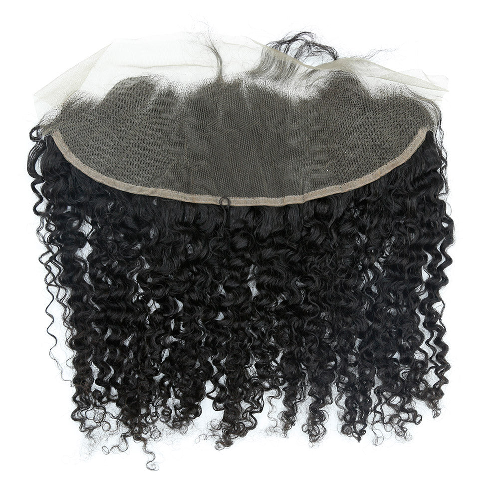 Afro Curl Lace Frontal - Gold LUXE - Rich Connections, Extensions, Bundles, Frontals, Closures