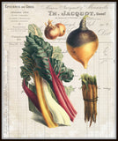 French Vegetable Collage No.1 - Botanical Print