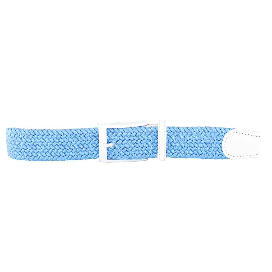 Neon Blue Elastic Belt