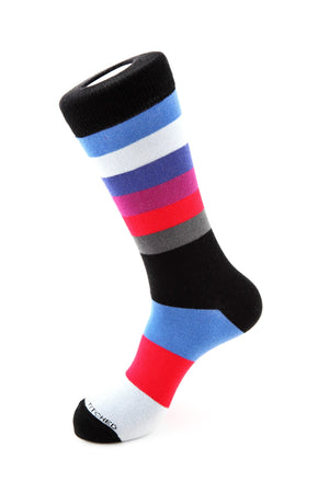 Med & Large Stripe Sock