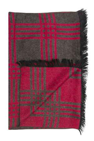 Red & Grey Roads Scarf