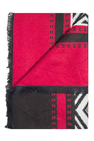 Red & Black Flying Aztec