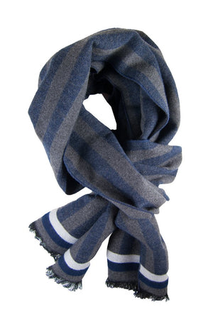 Navy & Charcoal Scarf