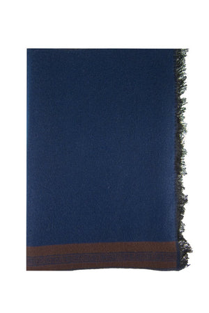 Blue & Brown Scarf