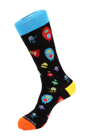 Monster Party Sock