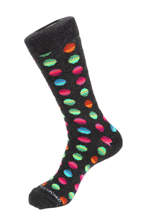 Striped Polka Dot Sock