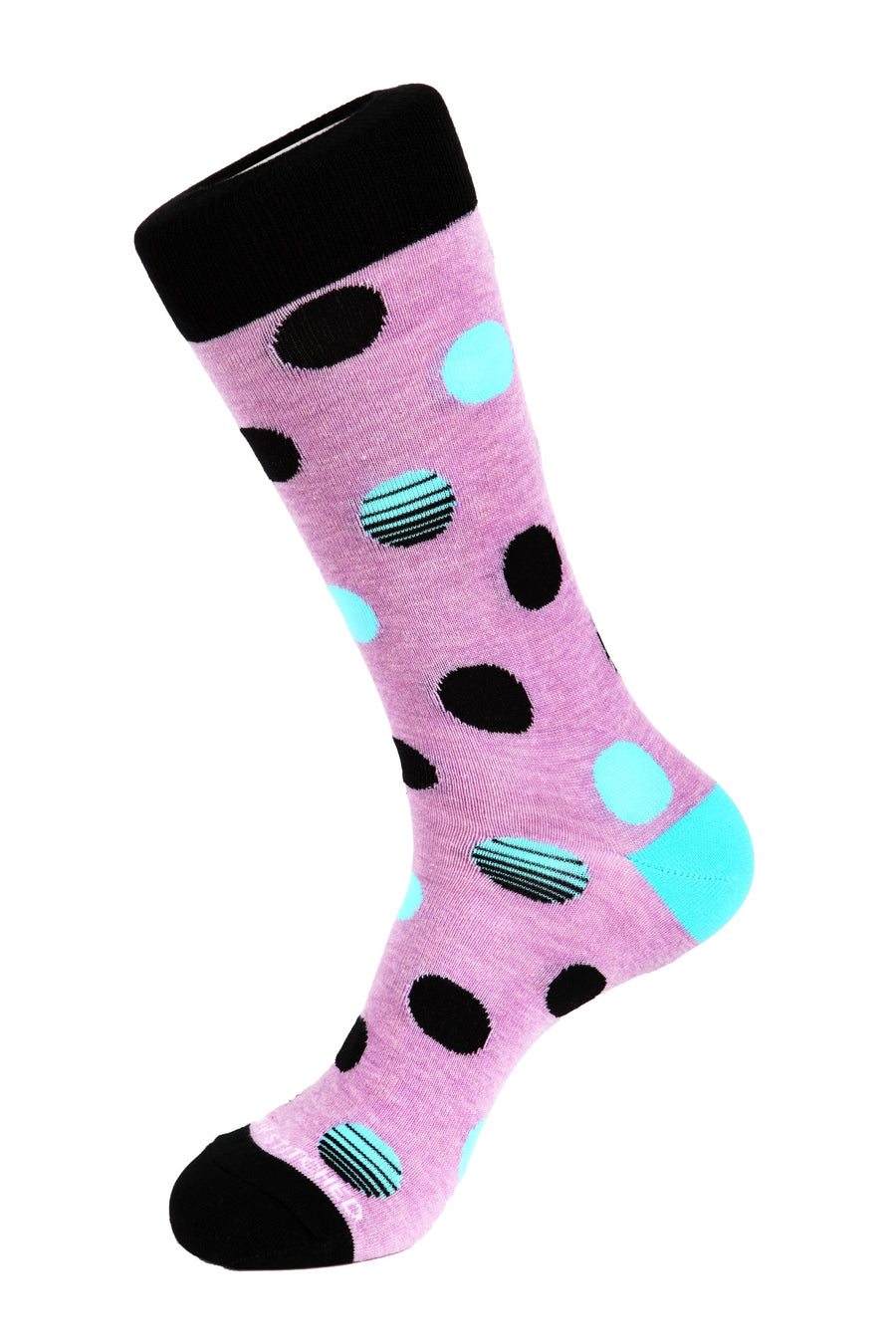 Sunset Polka Dot Sock