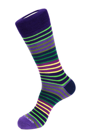 Saturday Stripe Sock