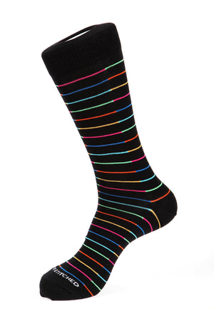 Spit Stripe Sock