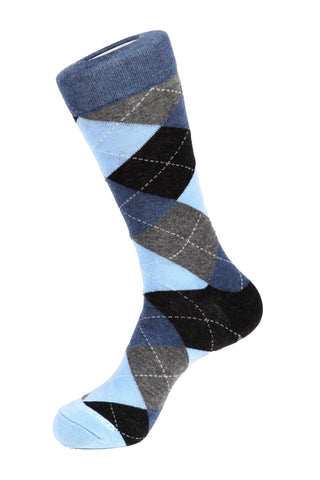 Checker Grid Sock