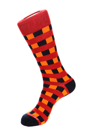 Flipped Triangles Sock