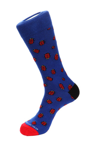 Crab Stripe Sock
