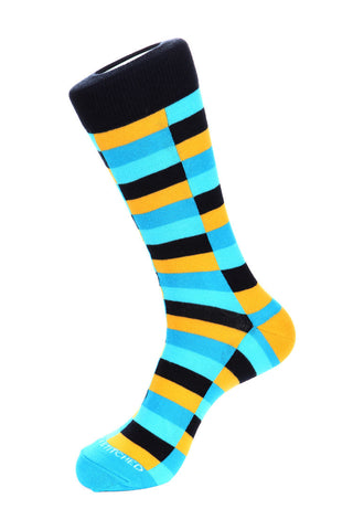 Purpose Stripe Sock
