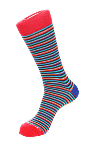 Wave Stripe Sock