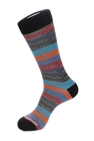 Circle Herringbone Sock