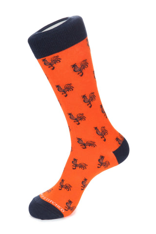 Rooster Sock