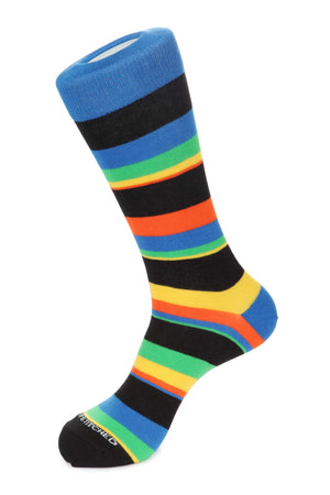 Five Color Stripe Sock
