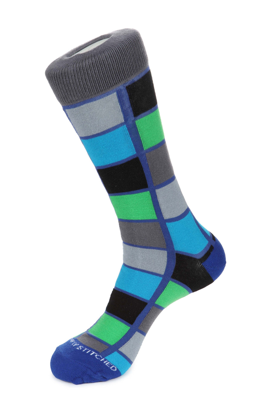 Window Check Sock