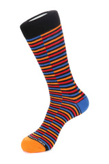 Grated Stripe Sock