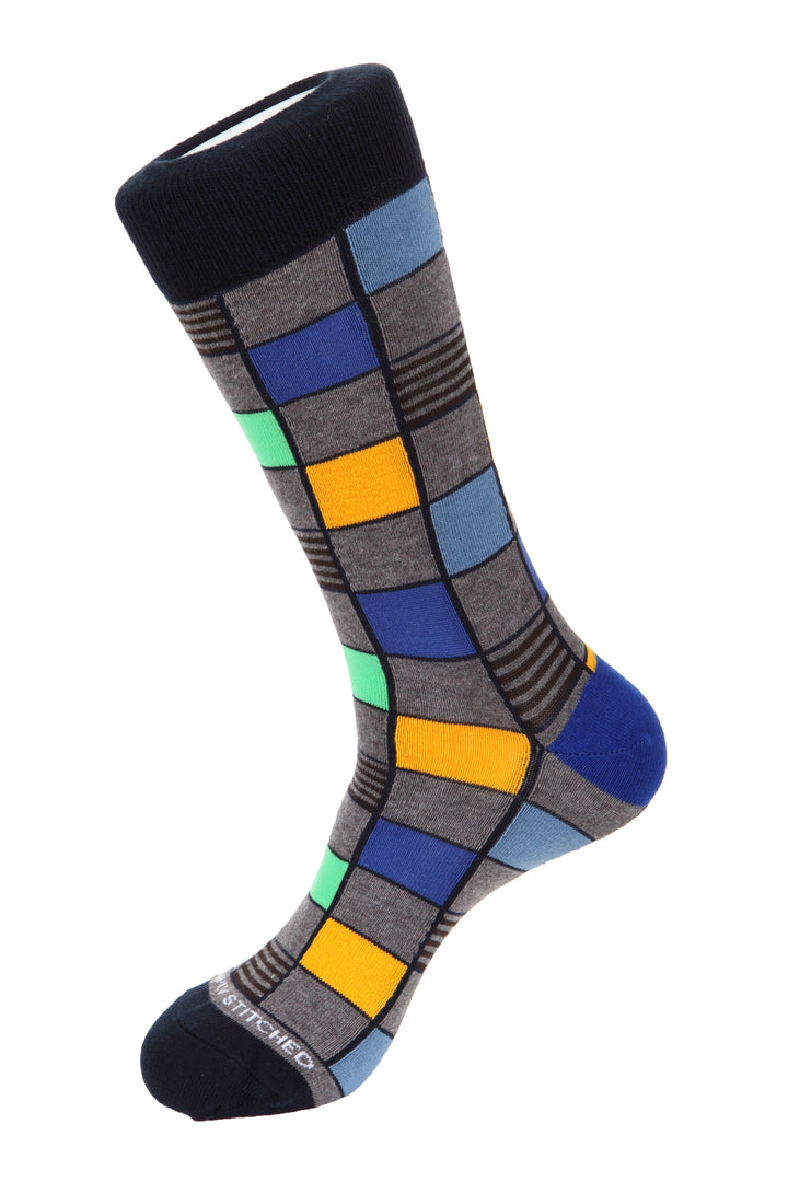 Window Tile Socks
