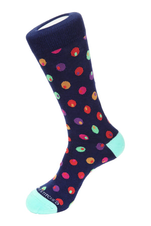 Eyeball Polka Dot Socks