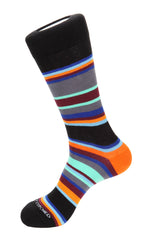 Slate Stripe Socks