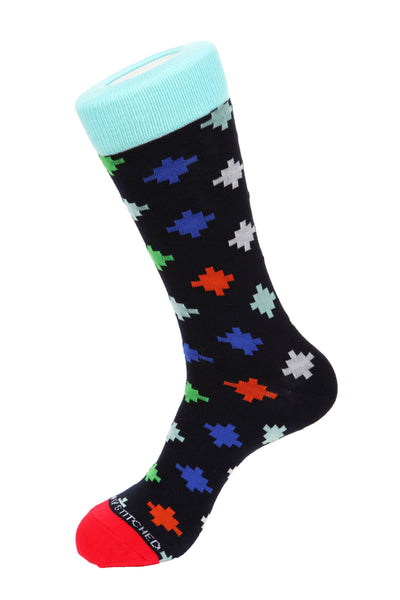 Floating Shapes Socks