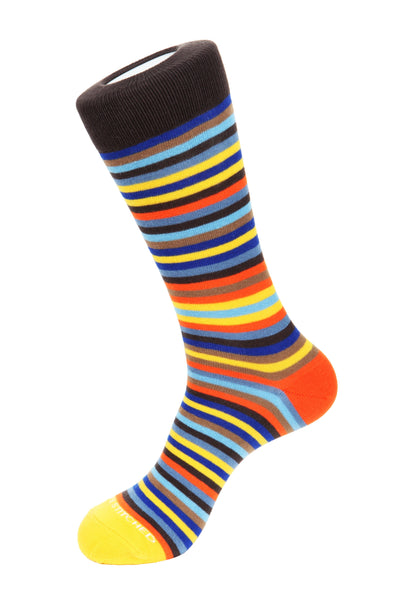 Crest Stripe Socks